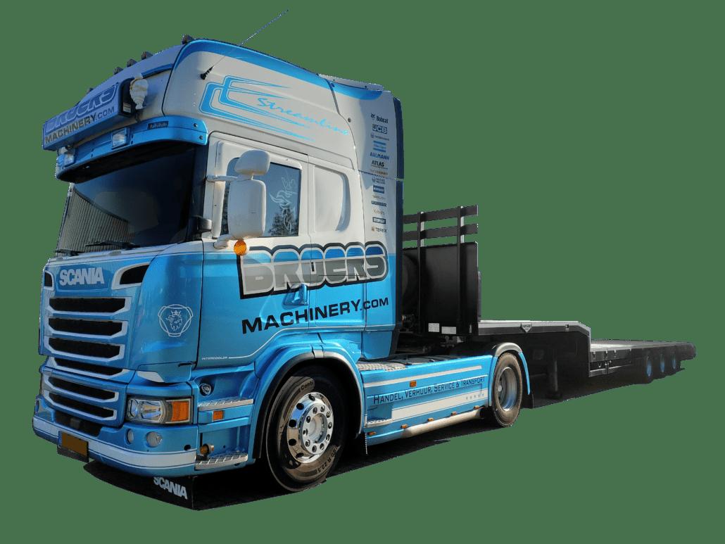 Broers Machinery Machine Transport Exportservice